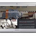 Mockup of Inglewood Drive In Website
