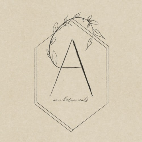 "A logo with the letter ""A"" with leaves coming off it"