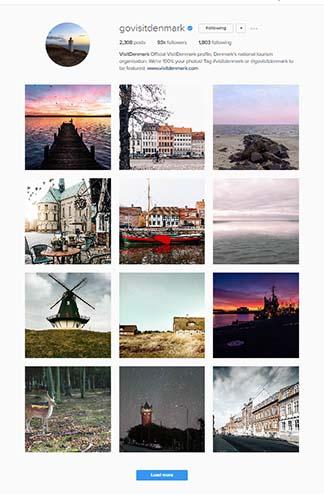 A screenshot of an Instagram feed