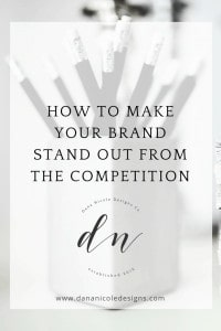 image with text overlay: how to make your brand stand out from the competition