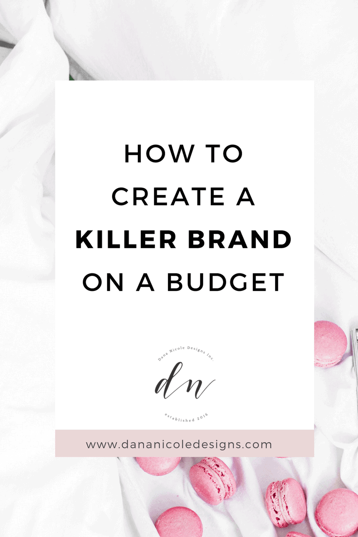 cover image for blog post with text: How To Create A Killer Brand