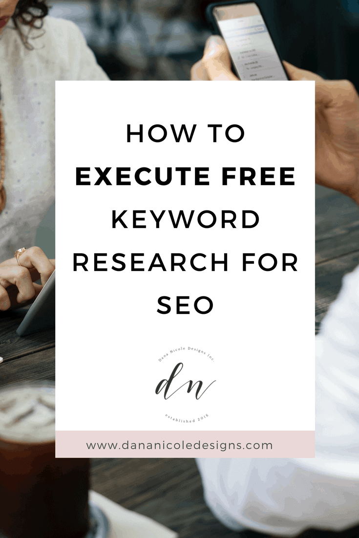 cover photo for blog post about keyword research