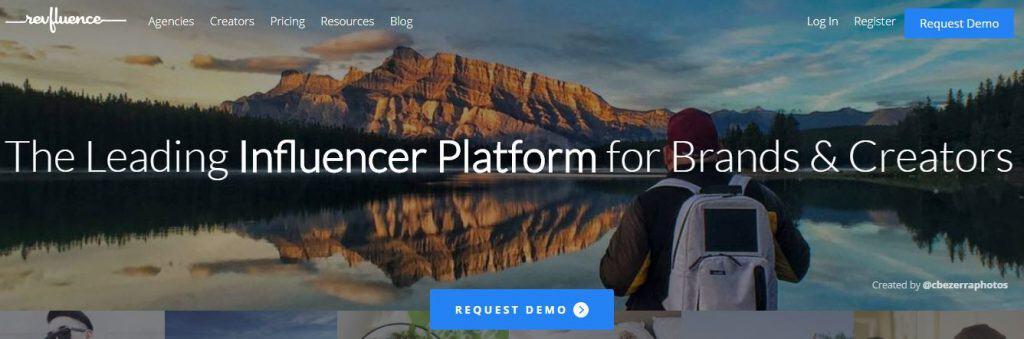 Screenshot of Refluence website.