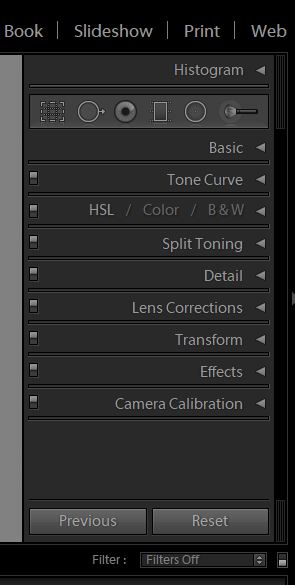 Screenshot of the Adobe Lightroom interface