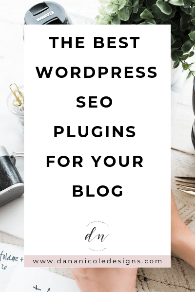 image with text overlay: the best WordPress SEO plugins