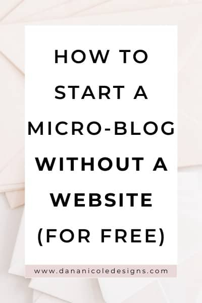 image with text overlay: how to start a blog on instagram without a website (for free)